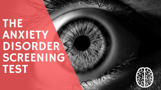 anxiety disorder screening test